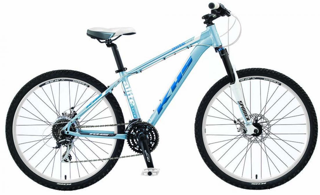 Велосипед женский KHS Alite 350 Ladies 2015, цвет: синий, рама 17, колесо 26212877