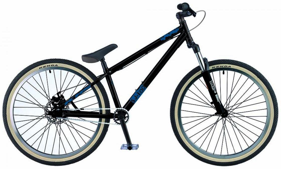 Велосипед горный KHS SJ-onehundred 2015, трюковый, цвет: черный, рама 17, колесо 26212879