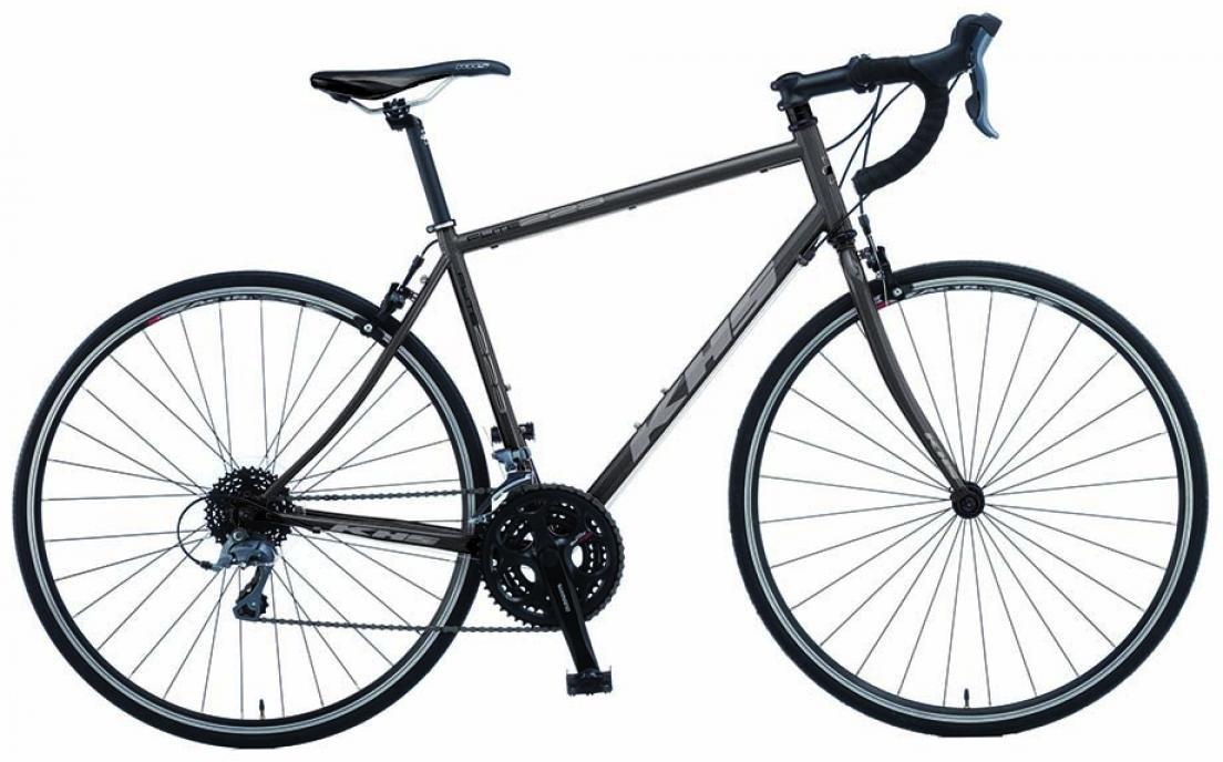 Велосипед шоссейный KHS Flite 223 Triple 2015, цвет: серый, рама 24, колесо 28212884