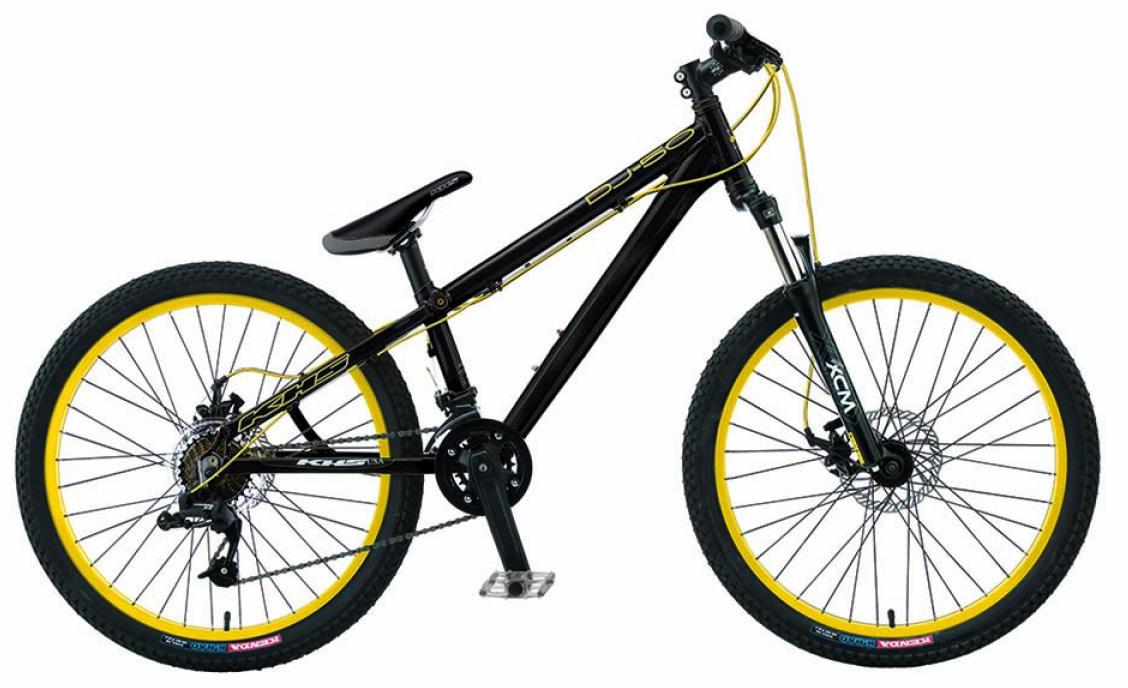 Велосипед горный KHS DJ-fifty 2015, трюковый, цвет: черный, рама 13,5, колесо 26212885