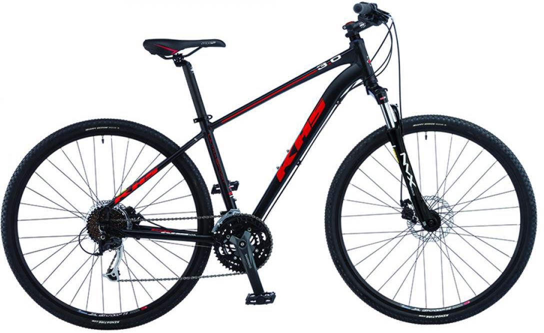 Велосипед городской KHS Ultra Sport 3.0 2015, цвет: черный, рама 17, колесо 28212890
