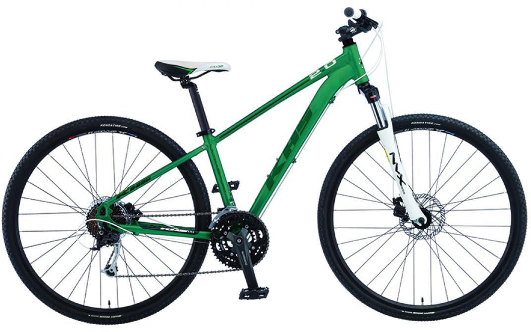 Велосипед городской KHS Ultra Sport 3.0 Ladies 2015, цвет: зеленый, рама 19, колесо 28212893