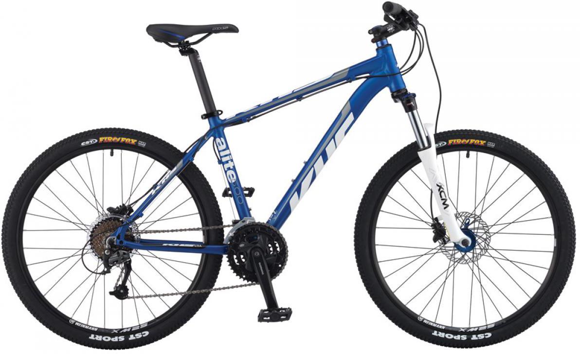 Велосипед горный KHS Alite 500 2015, цвет: синий, рама 17, колесо 26212896