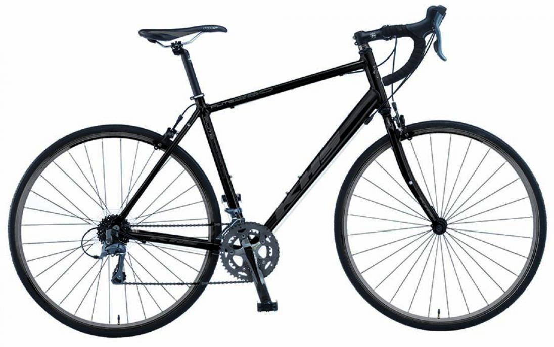 Велосипед шоссейный KHS Flite 280 2015, цвет: черный, рама 24, колесо 28212910