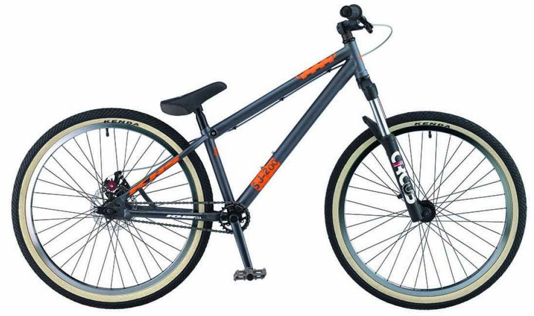 Велосипед горный KHS SJ-twohundred 2015, трюковый, цвет: серый, рама 15, колесо 26212915