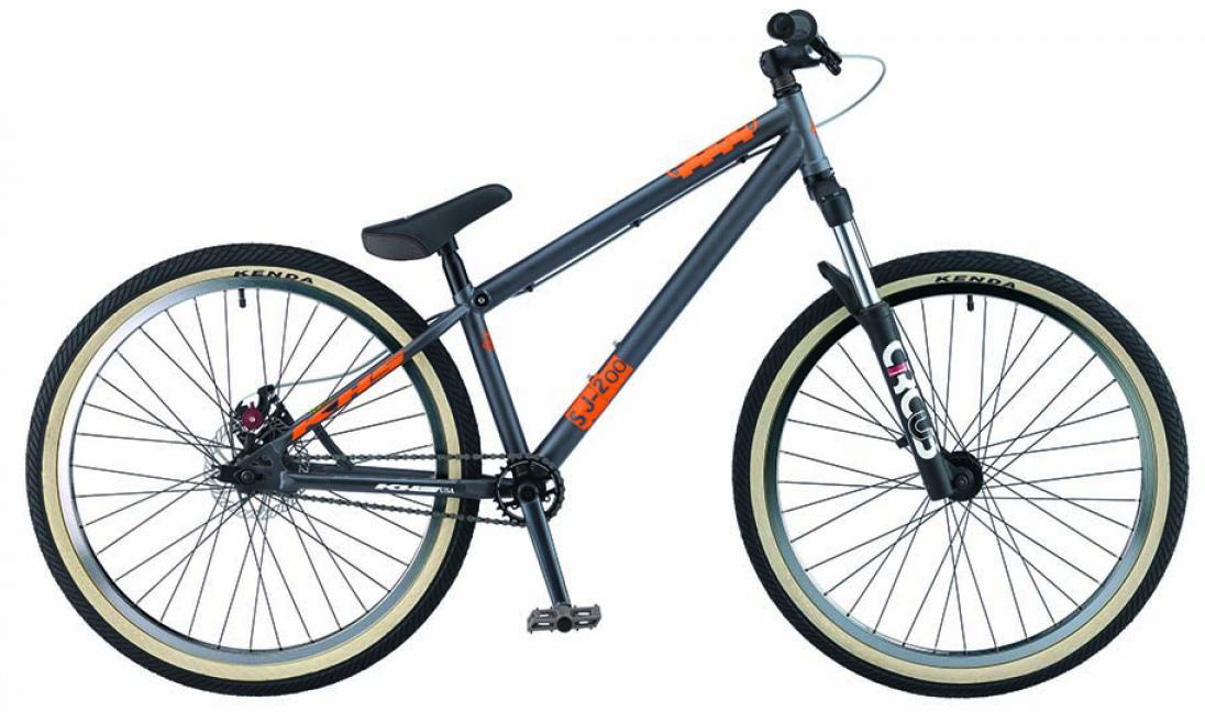 Велосипед горный KHS SJ-twohundred 2015, трюковый, цвет: серый, рама 17, колесо 26212916