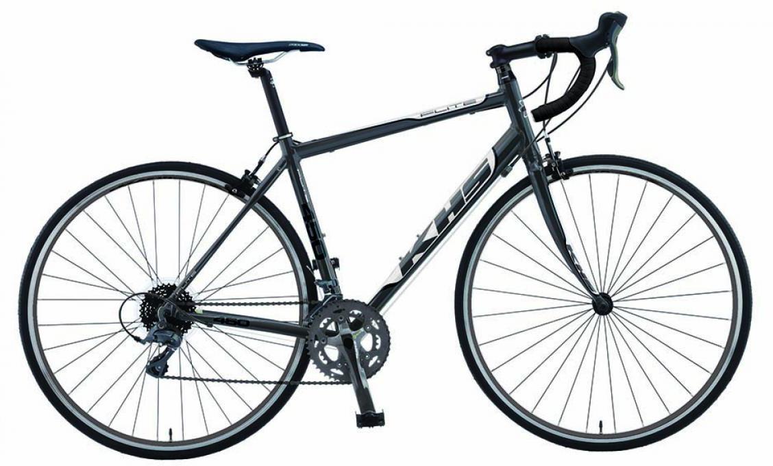 Велосипед шоссейный KHS Flite 450 2015, цвет: серый, рама 23, колесо 28212933