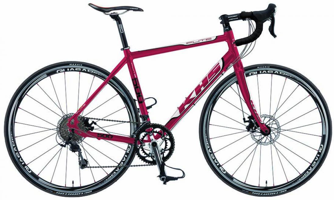 Велосипед шоссейный KHS Flite 500 2015, цвет: красный, рама 20,5, колесо 28212935