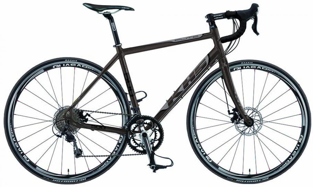 Велосипед шоссейный KHS Flite 500 2015, цвет: серый, рама 21,5, колесо 28212939