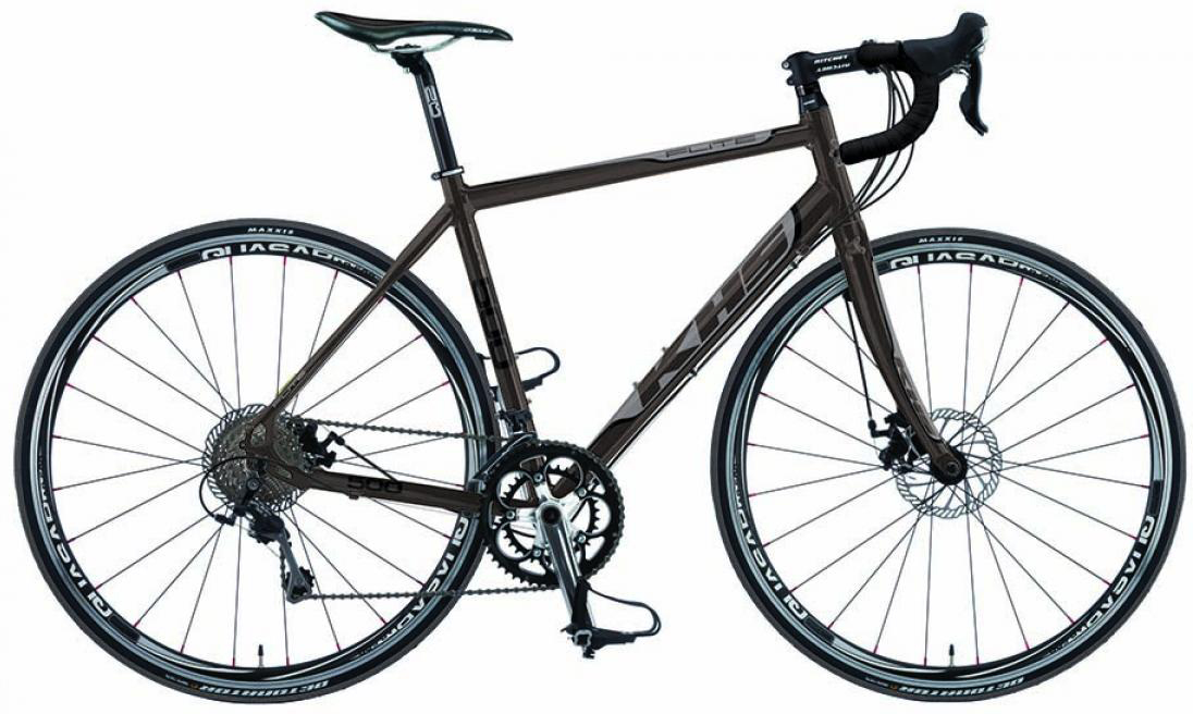 Велосипед шоссейный KHS Flite 500 2015, цвет: серый, рама 23, колесо 28212941