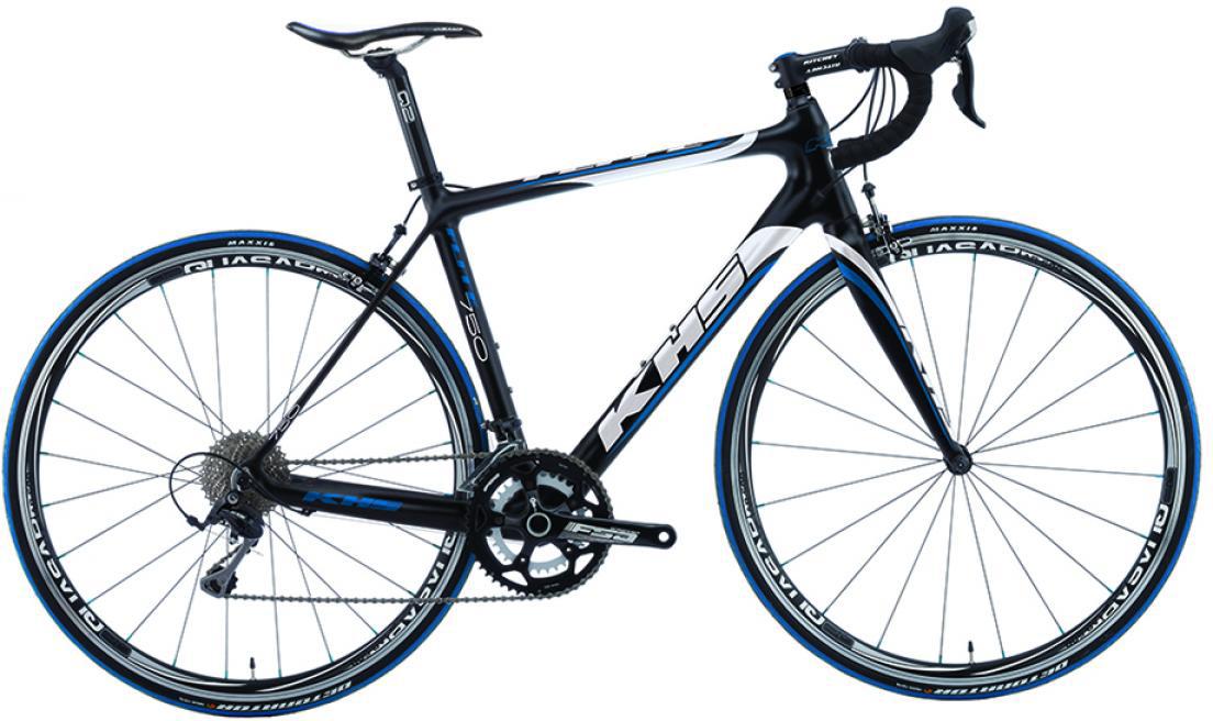Велосипед шоссейный KHS Flite 750 2015, цвет: черный, рама 23, колесо 28212945