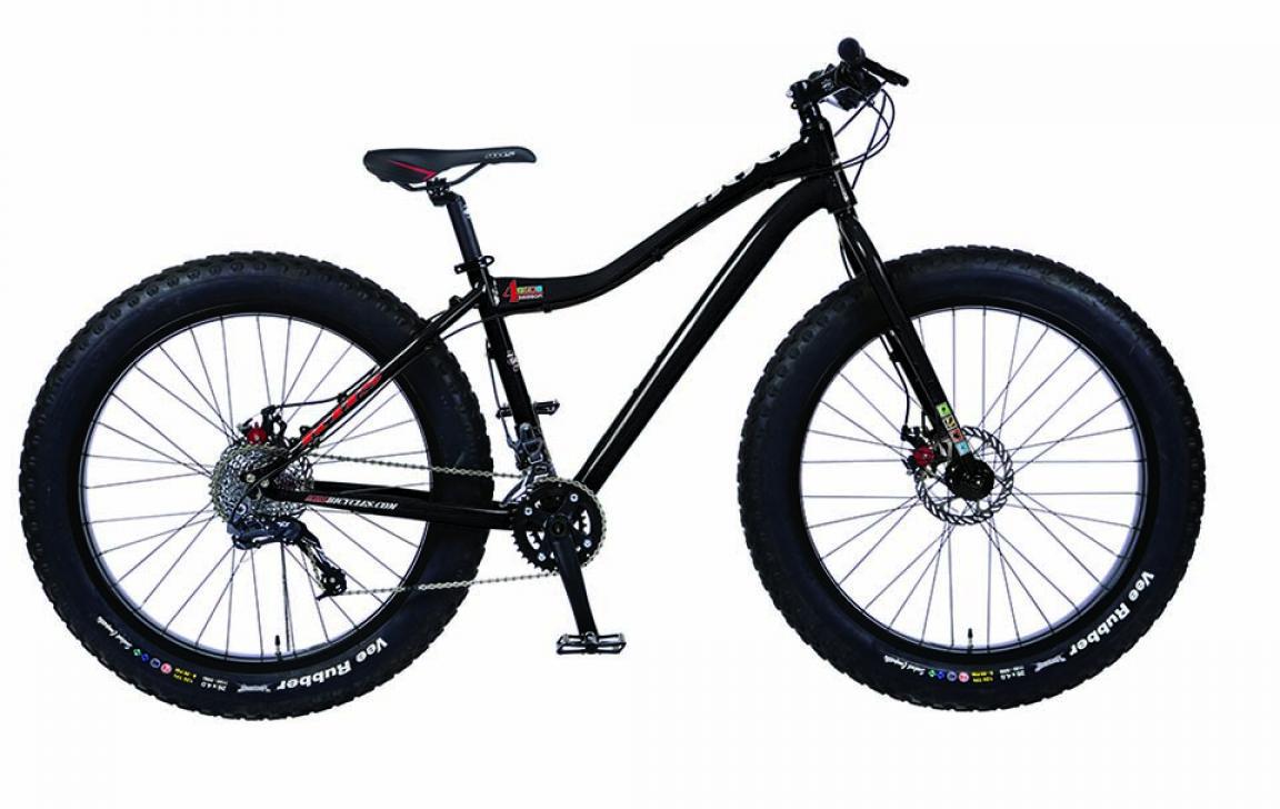 Велосипед горный KHS 4 Season 500 2015, цвет: черный, рама 19, колесо 26212981