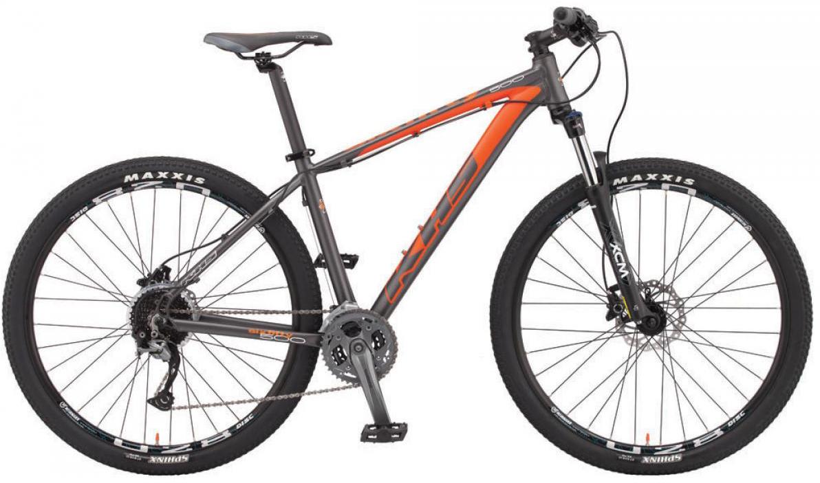 Велосипед горный KHS Sixfifty 500 2015, цвет: серый, рама 22, колесо 27,5212993