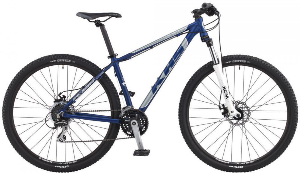 Велосипед горный KHS Winslow 29 2015, цвет: синий, рама 22, колесо 29240941
