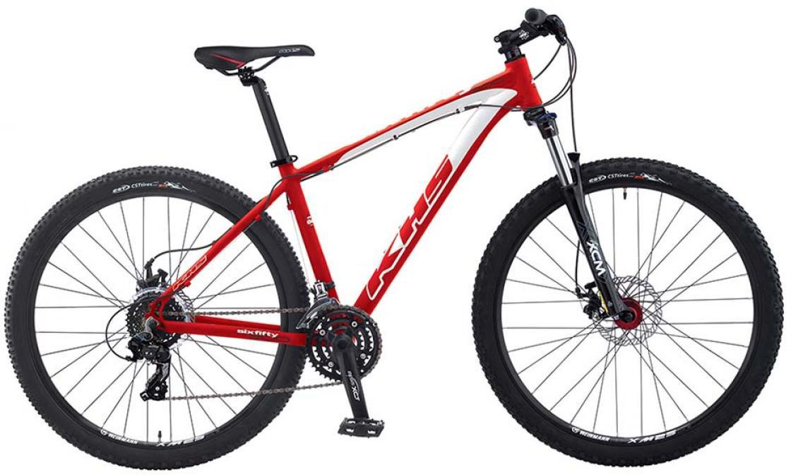 Велосипед горный KHS SixFifty 300 2015, цвет: красный, рама 22, колесо 27,5253216