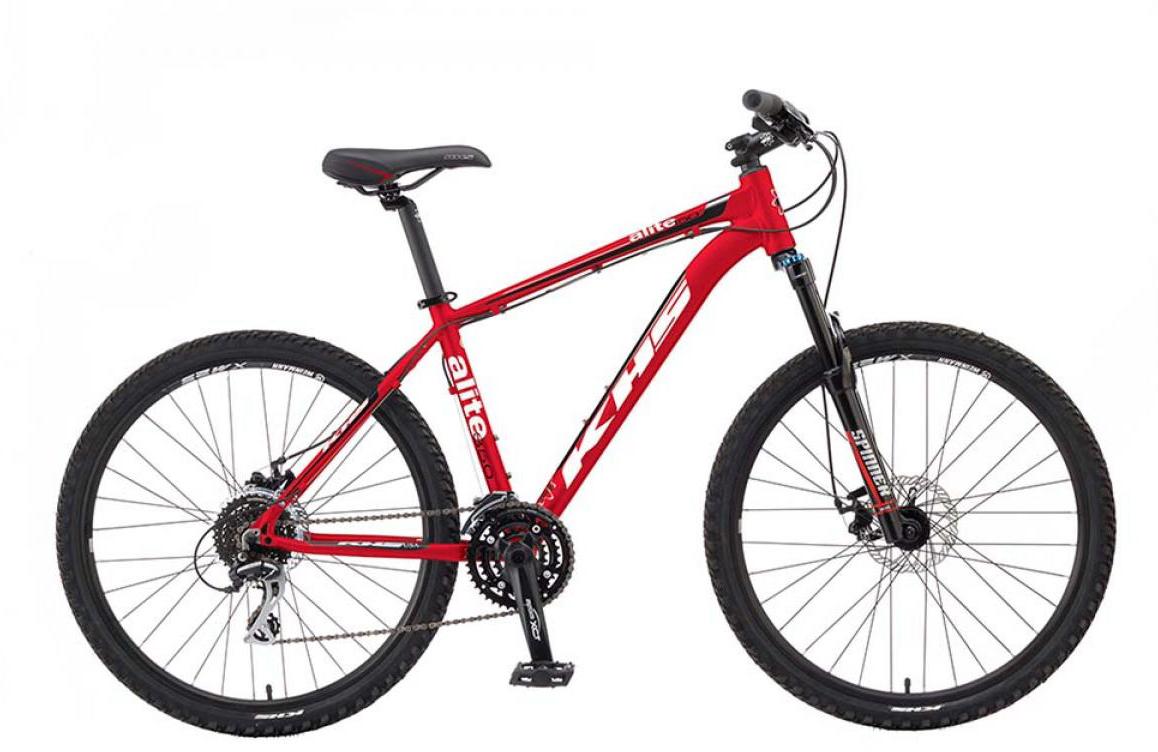 Велосипед горный KHS Alite 350 2015, цвет: красный, рама 21, колесо 26253226