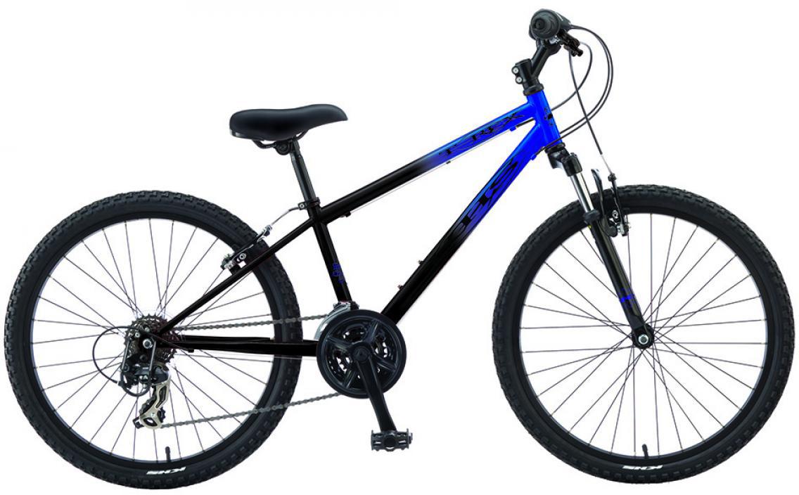 Велосипед детский KHS T-Rex 2016, цвет: синий, колесо 24258528