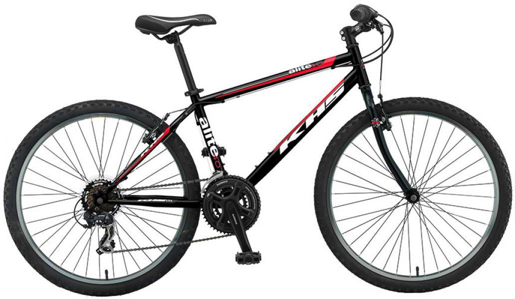 Велосипед горный KHS Alite 40 2016, цвет: черный, рама 17, колесо 26258535