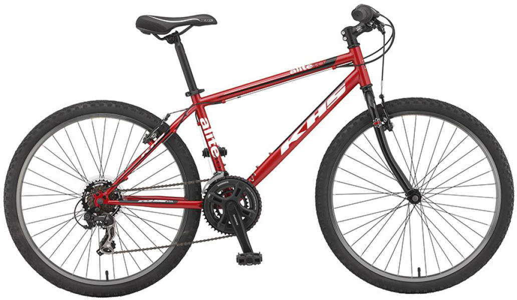 Велосипед горный KHS Alite 40 2016, цвет: красный, рама 19, колесо 26258539