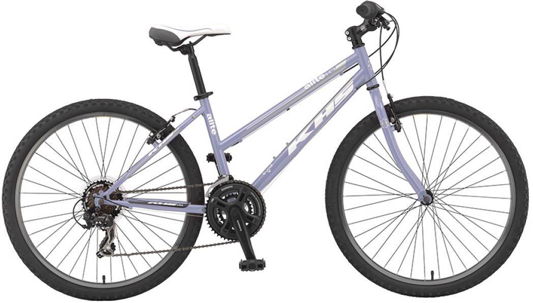 Велосипед женский KHS Alite 40 Ladies 2016, цвет: фиолетовый, рама 16, колесо 26258542