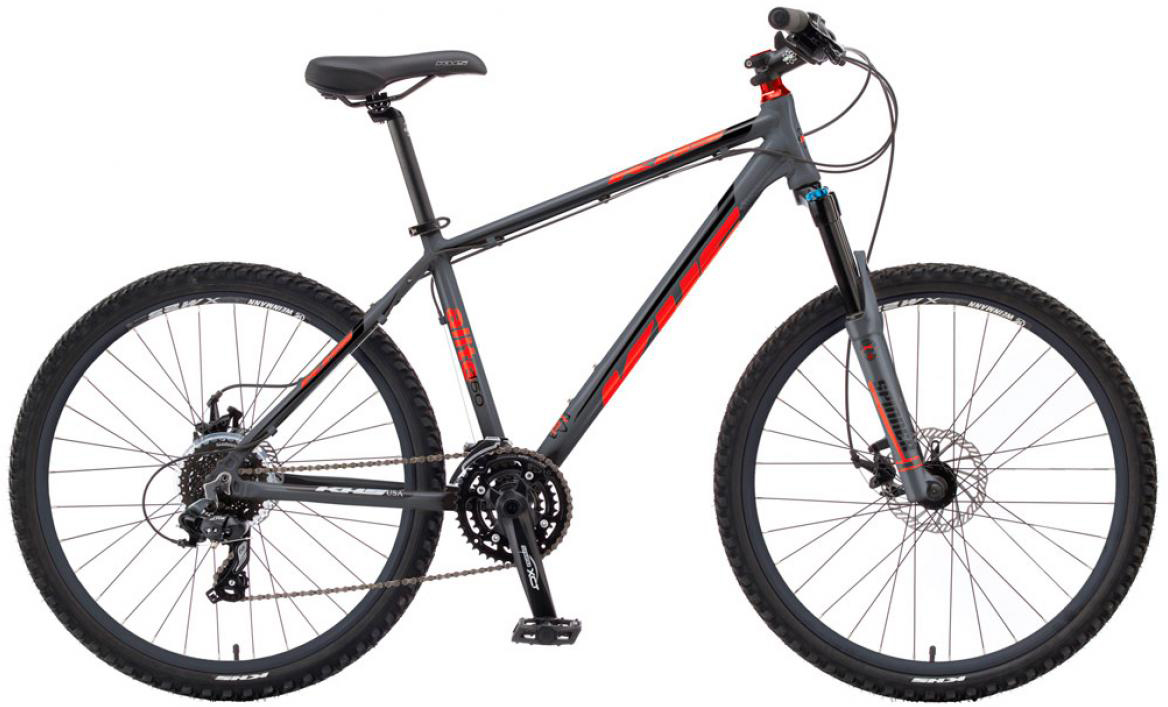 Велосипед горный KHS Alite 150 2016, цвет: серый, рама 15, колесо 26258549