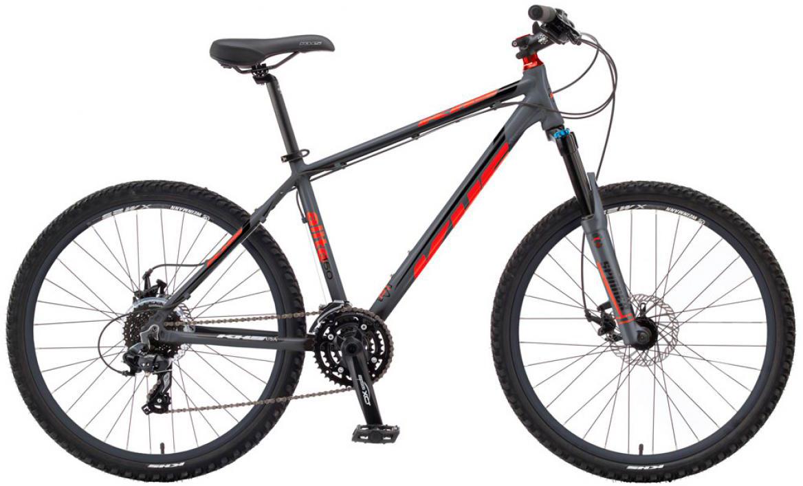 Велосипед горный KHS Alite 150 2016, цвет: серый, рама 19, колесо 26258551