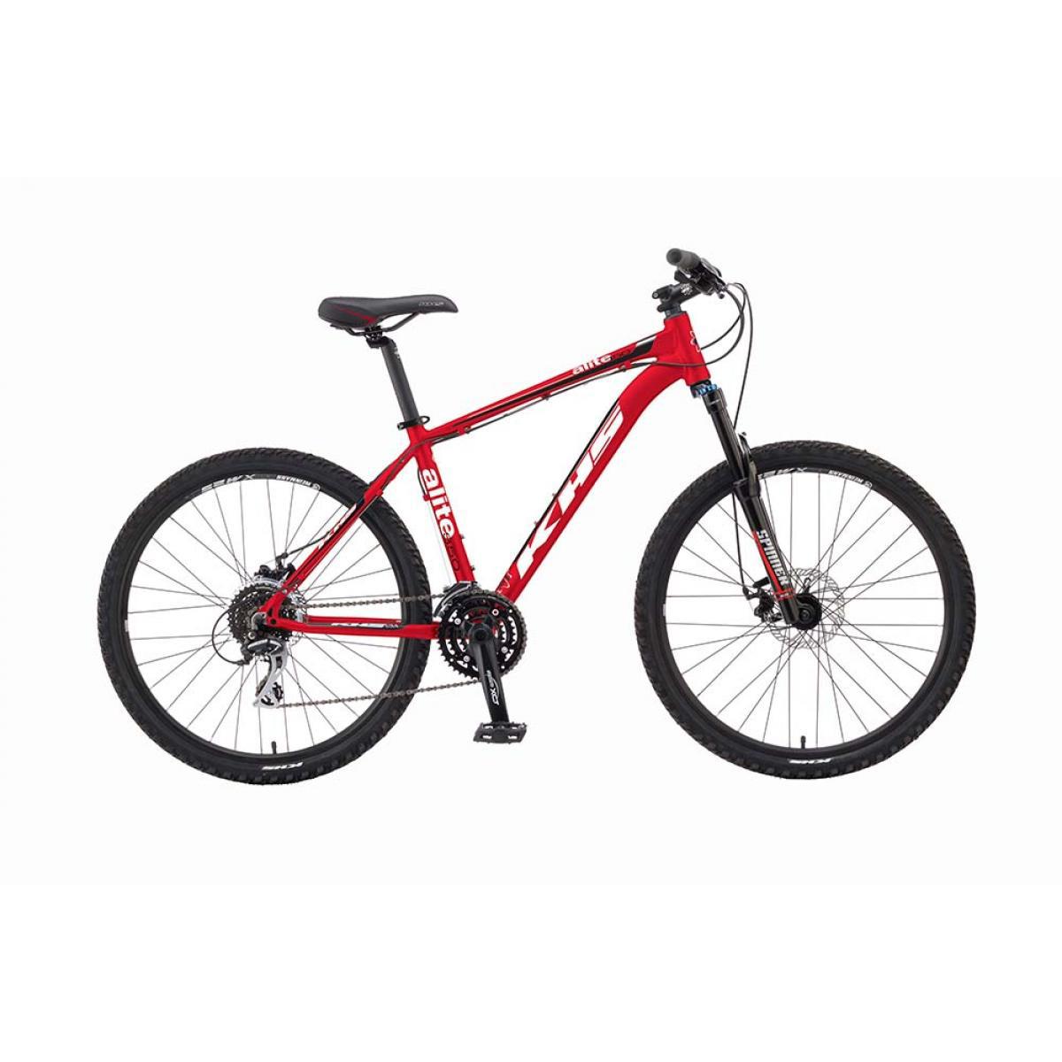 Велосипед горный KHS Alite 350 2016, цвет: красный, рама 15, колесо 26258556