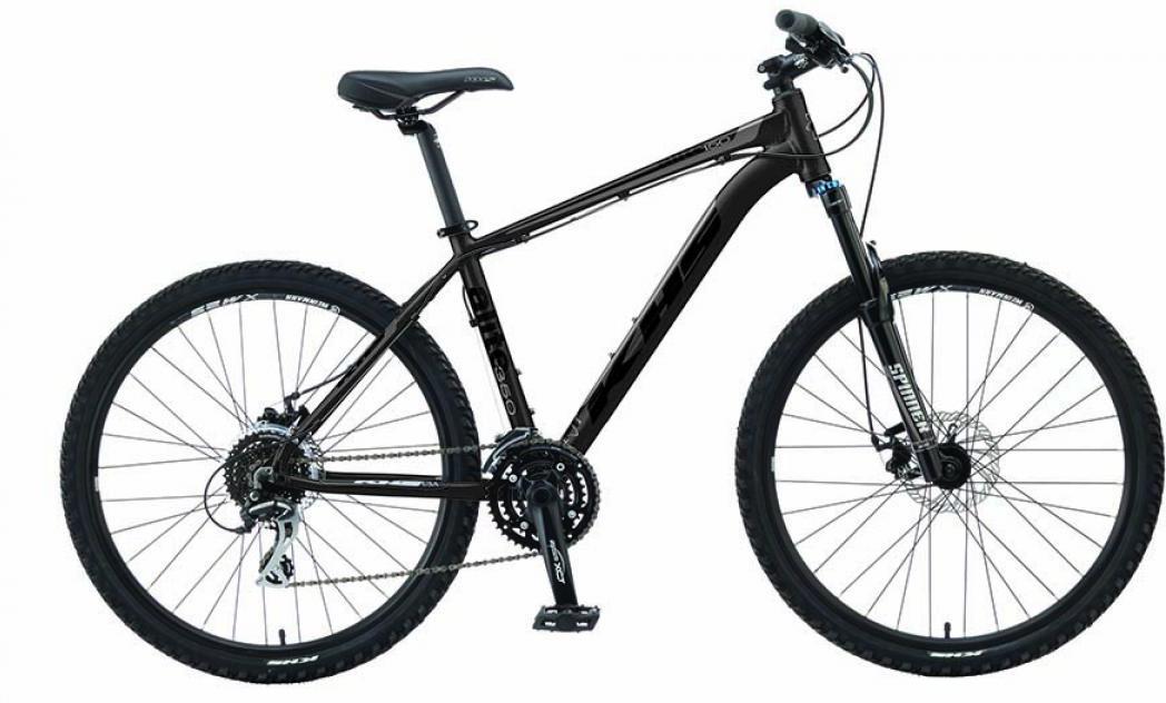 Велосипед горный KHS Alite 350 2016, цвет: черный, рама 13,5, колесо 26258560