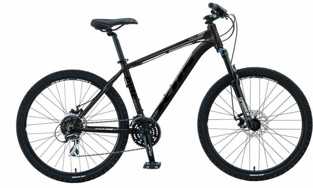 Велосипед горный KHS Alite 350 2016, цвет: черный, рама 17, колесо 26258562