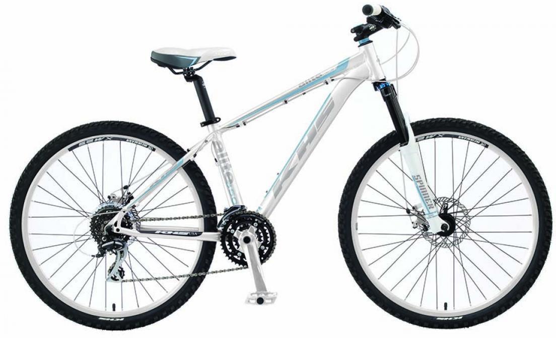 Велосипед женский KHS Alite 350 Ladies 2016, цвет: белый, рама 17, колесо 26258576