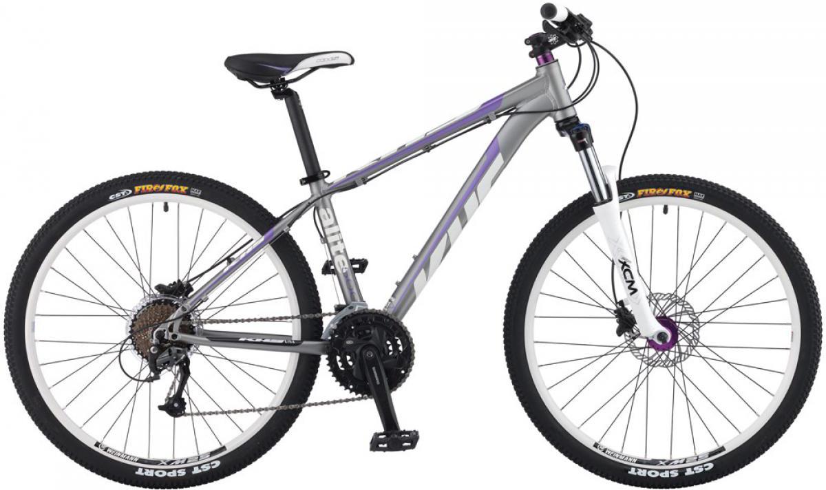 Велосипед женский KHS Alite 500 Ladies 2016, цвет: серый, рама 17, колесо 26258580
