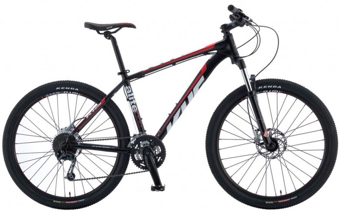 Велосипед горный KHS Alite 1000 2016, цвет: черный, рама 21, колесо 26258584