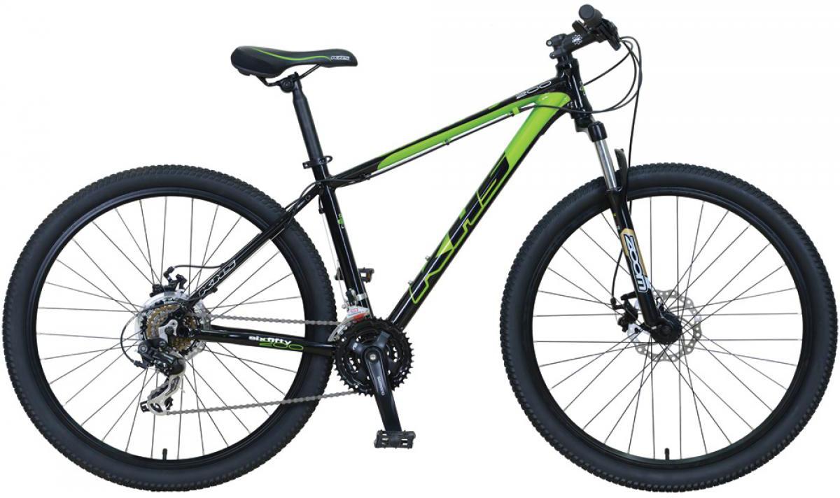 Велосипед горный KHS Sixfifty 200 2016, цвет: черный, рама 16, колесо 27,5258590