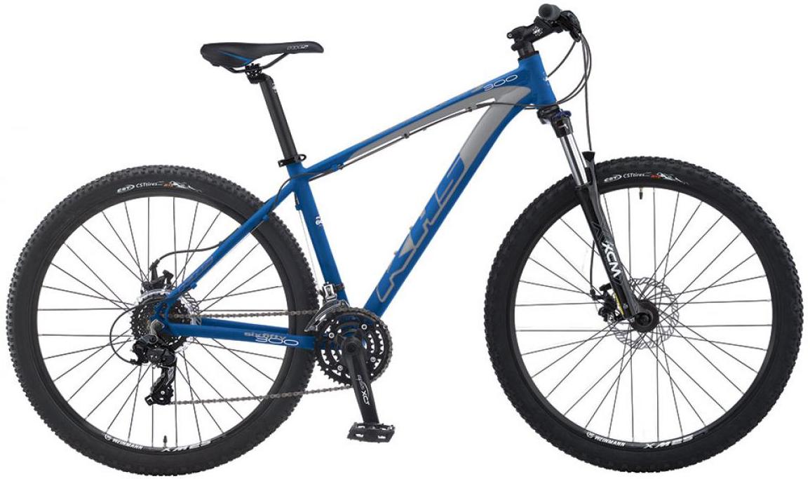 Велосипед горный KHS Sixfifty 300 2016, цвет: синий, рама 18, колесо 27,5258603
