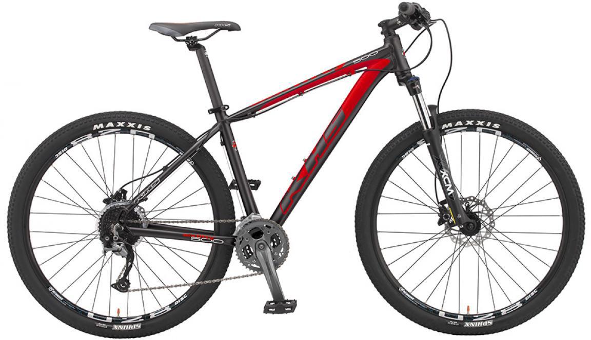 Велосипед горный KHS Sixfifty 500 2016, цвет: красный, рама 18, колесо 27,5258607