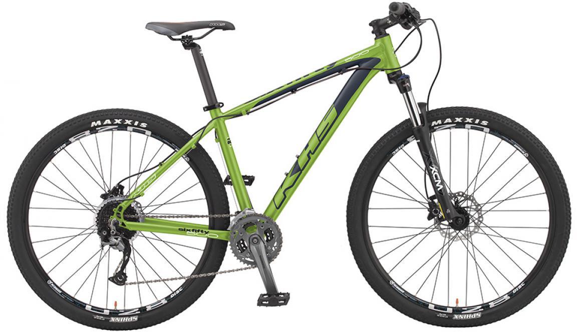 Велосипед горный KHS Sixfifty 500 2016, цвет: зеленый, рама 18, колесо 27,5258611