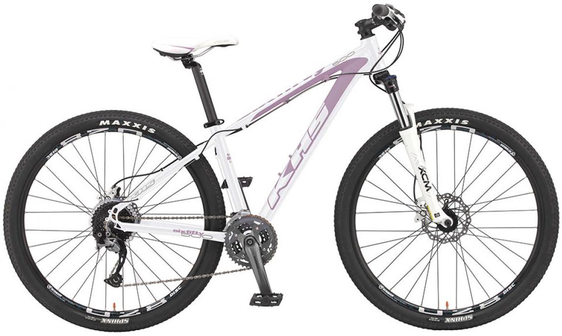 Велосипед женский KHS Sixfifty 500 Ladies 2016, цвет: белый, рама 14,5, колесо 27,5258624