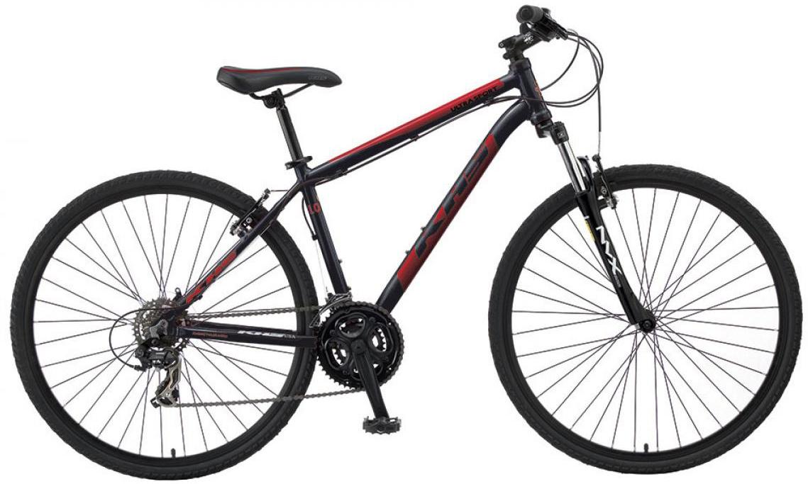 Велосипед городской KHS Ultrasport 1.0 2016, цвет: черный, рама 21, колесо 28258629