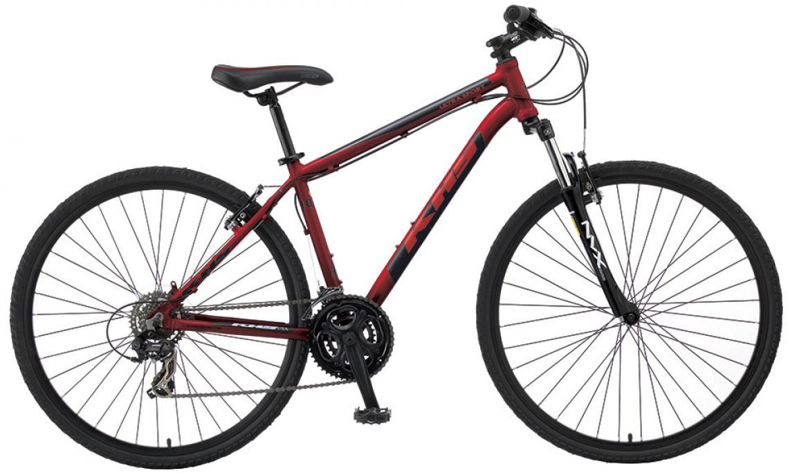 Велосипед городской KHS Ultrasport 1.0 2016, цвет: красный, рама 17, колесо 28258632