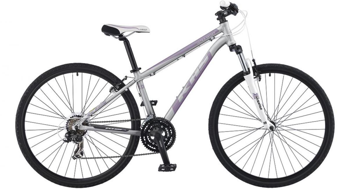 Велосипед городской KHS Ultrasport 1.0 Ladies 2016, цвет: серый, рама 15, колесо 28258636