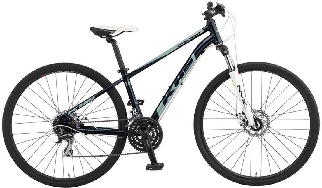 Велосипед городской KHS Ultrasport 2.0 Ladies 2016, цвет: черный, рама 17, колесо 28258639