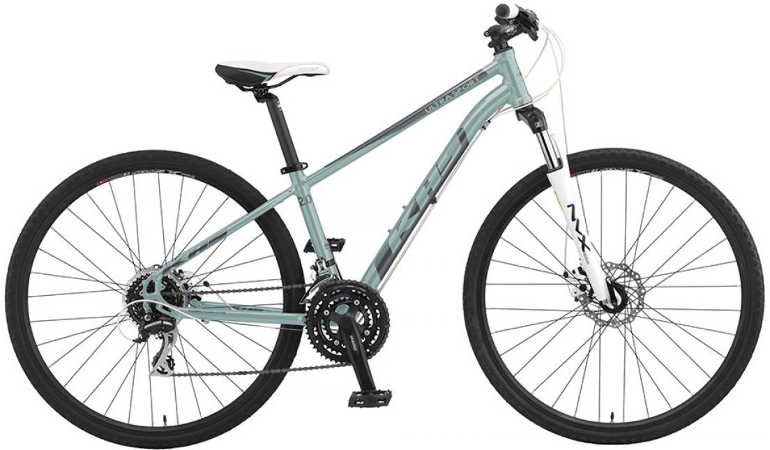 Велосипед городской KHS Ultrasport 2.0 Ladies 2016, цвет: зеленый, рама 15, колесо 28258640
