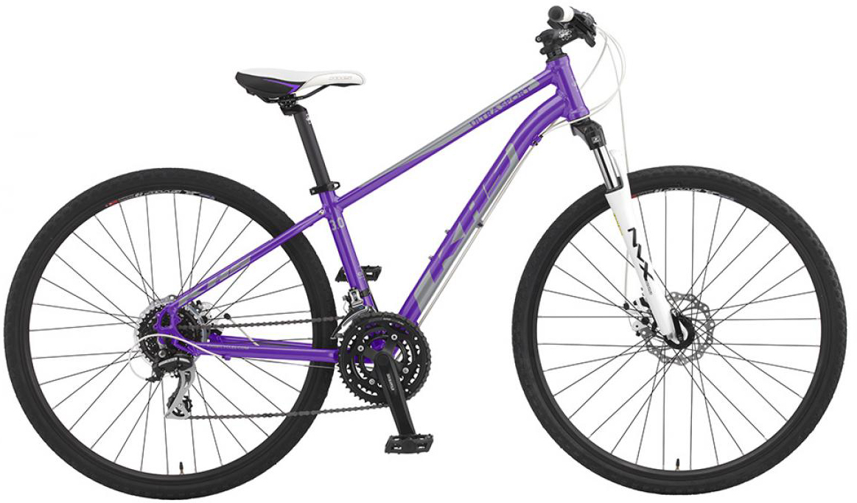 Велосипед городской KHS Ultrasport 3.0 Ladies 2016, цвет: фиолетовый, рама 17, колесо 28258642