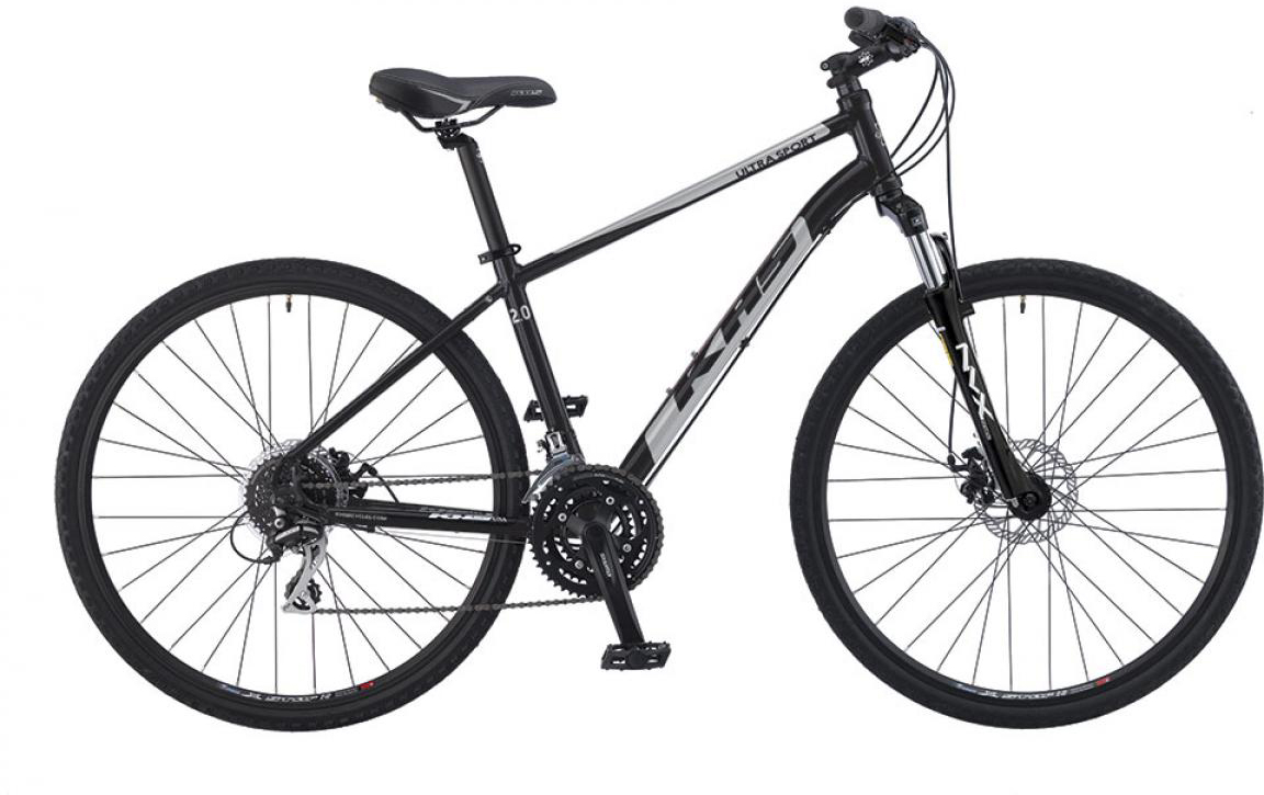 Велосипед городской KHS Ultrasport 2.0 2016, цвет: черный, рама 19, колесо 28258645