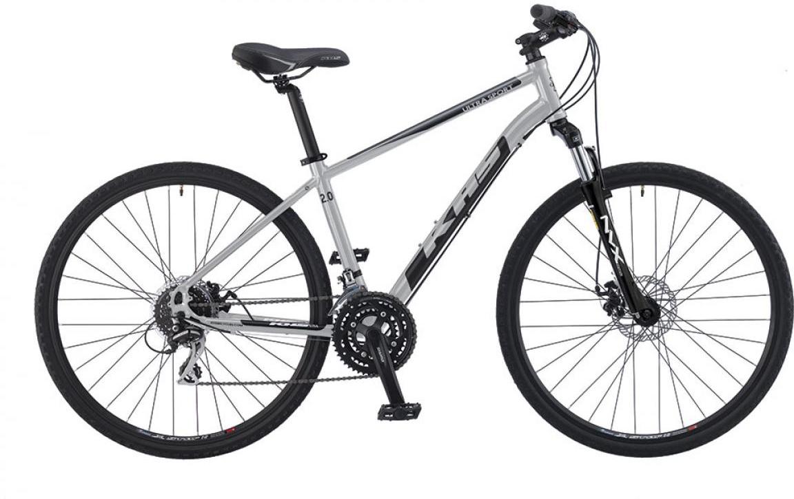 Велосипед городской KHS Ultrasport 2.0 2016, цвет: серый, рама 19, колесо 28258649