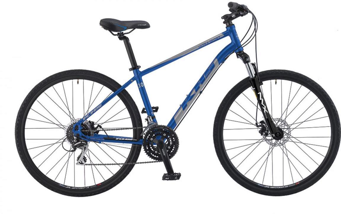 Велосипед городской KHS Ultrasport 3.0 2016, цвет: синий, рама 17, колесо 28258651