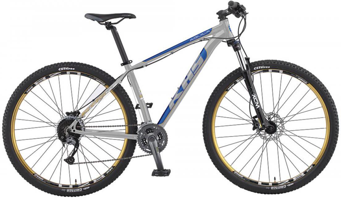 Велосипед горный KHS Aguila 2016, цвет: серый, рама 16, колесо 29258668
