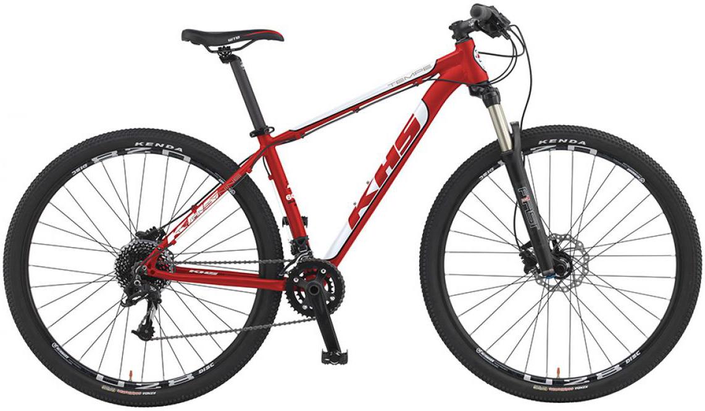 Велосипед горный KHS Tempe 2016, цвет: красный, рама 20, колесо 29258674
