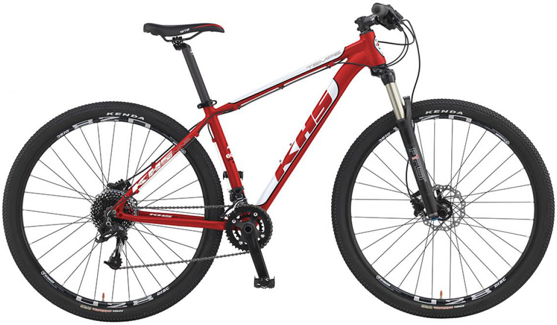 Велосипед горный KHS Tempe 2016, цвет: красный, рама 22, колесо 29258675