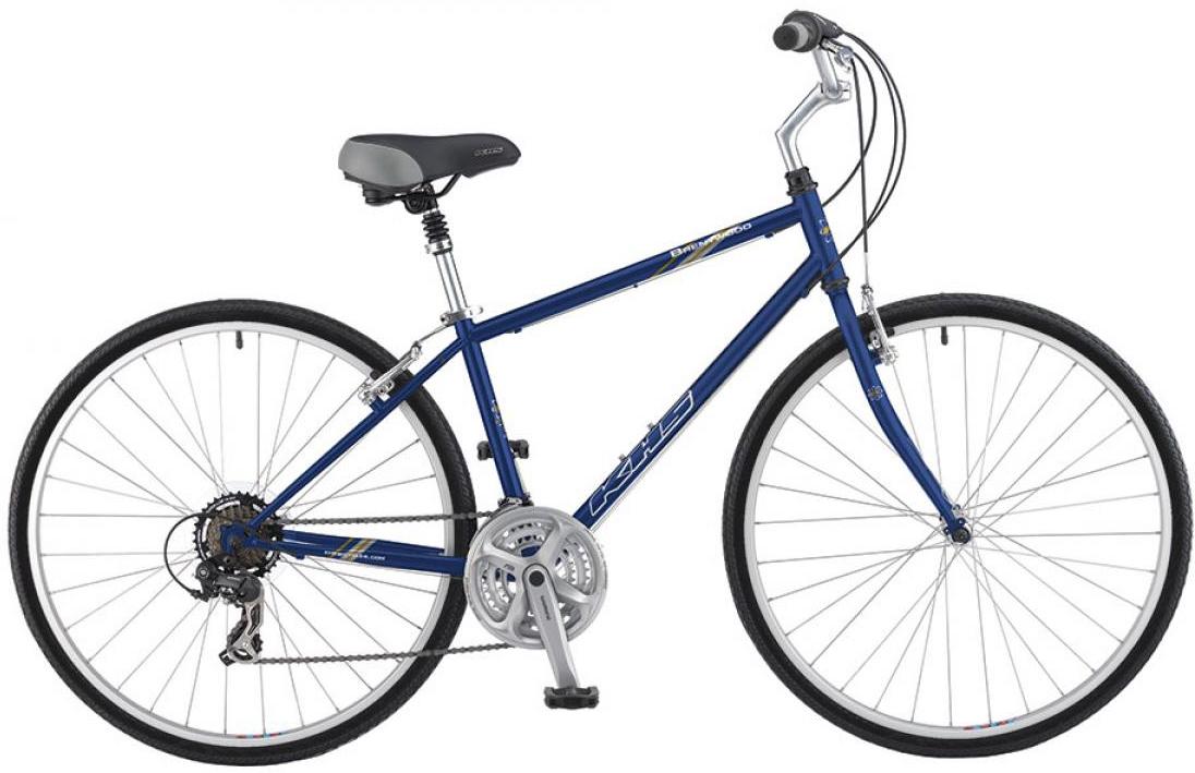 Велосипед городской KHS Brentwood 2016, цвет: синий, рама 19, колесо 28258684